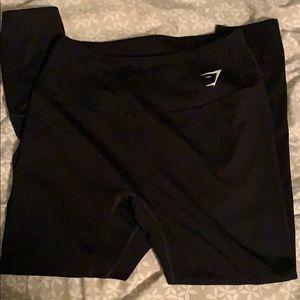 Black Gymshark training leggings